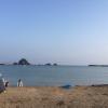 夏の定番「若狭和田海水浴場」は遠浅の海で子供も安心