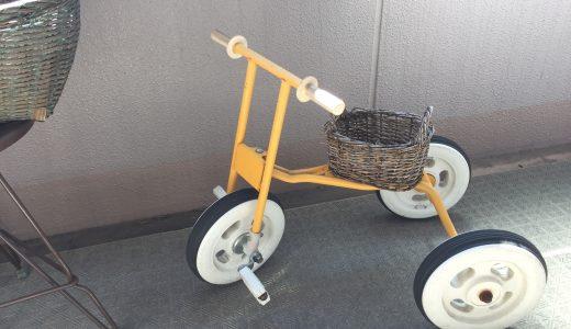 子どもの思い出は再利用!わが家の三輪車はこんな姿に?