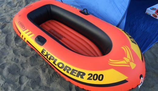 子どもと海水浴を楽しむ!お値打ちゴムボートとエアーポンプの購入レポート